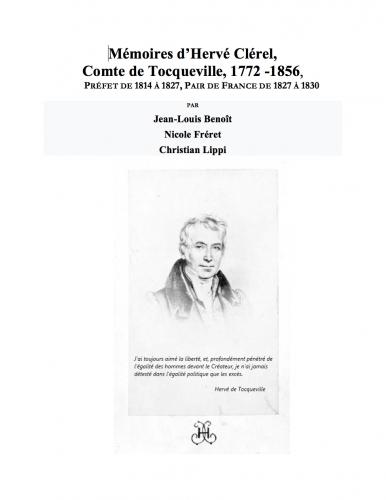 Tocqueville, Hervé de Tocqueville, Mémoires, Restauration